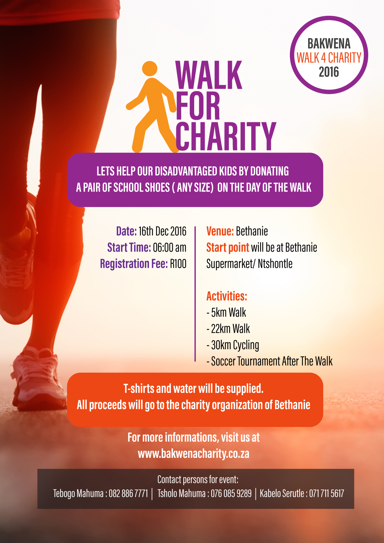 Walk In Your Shoes Charity
